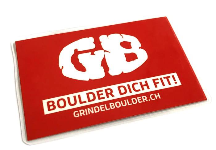 Mitgliedskarte GrindelBoulder Zürich Bassersdorf